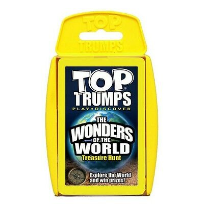 Top Trumps The Wonders of the World Card Game