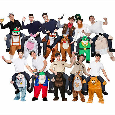 Shoulder Cary Me Piggy Back Ride On Fancy Dress Adult.Party/Costume-Mens_Outfit