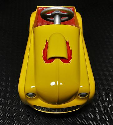 A Pedal Car 1930s Ford Hot Rod Drag Race Vintage Yellow Dragster Midget Model