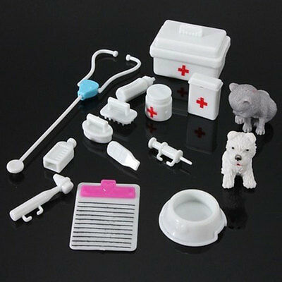 14PCs Medical Kit Doctor Toys Set Role Play Children Pretend Play House