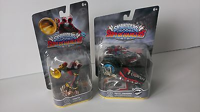 FIESTA and CRYPT CRUSHER combo - Skylanders Superchargers - Brand New & Sealed