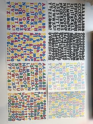 creative memories stickers Mini ABC  4 Colors