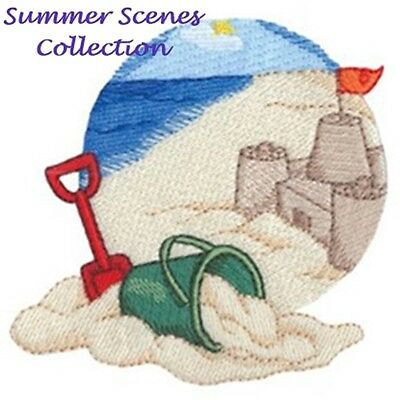 Summer Scenes Collection - Machine Embroidery Designs On Cd