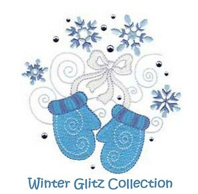 Winter Glitz Collection - Machine Embroidery Designs On Cd