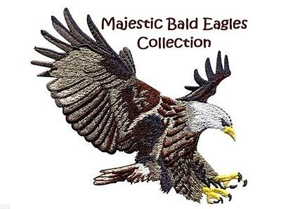 Majestic Bald Eagles Collection - Machine Embroidery Designs On Cd