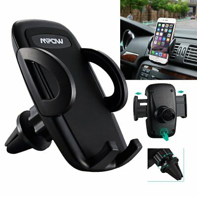 MPOW 360° Universal Car Air Vent Dashboard Holder Phone Mount For iPhone Samsung