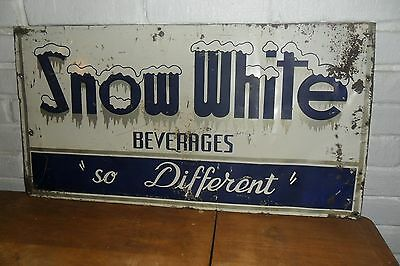 Snow White soda sign RARE sign nice shape