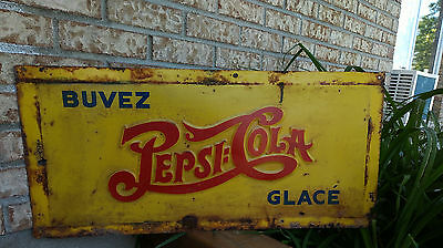 Beautiful Pepsi Cola double dot sign very nice