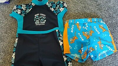 boy 9-12 month swimming costume