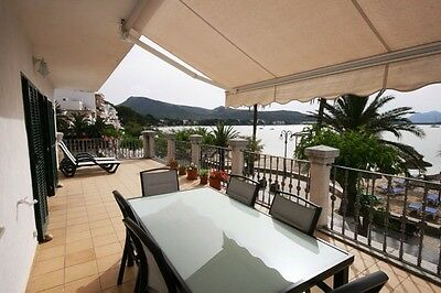 Mallorca, Puerto Pollensa Beachfront Holiday Apartment