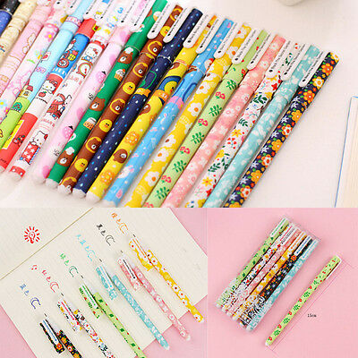 6 pcs Colorful Gel Pen Set Kawaii Korean Stationery Creative Gifts School Supply
