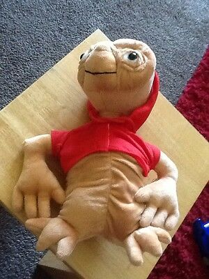 E.T. plush soft toy VGC