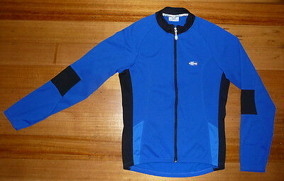 SANTINI SMS Long Sleeve Fleecy Lined Cycle Jersey - Size 3XL