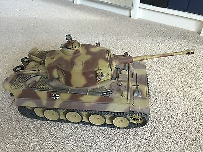 Tamiya Tiger Full option 1:16 Tank