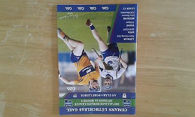 GAA HURLING - NHL Clare v Waterford 2017 @ Ennis including used Ticket.