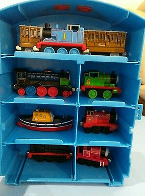 Thomas And Friends Take N' Play carry case  with trains and carriages.