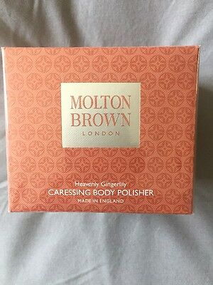 Molton Brown Caressing Body Polisher 275g Heavenly Gingerlily - New/Boxed