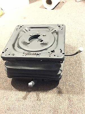 tractor backhoe suspension seat base and swivel kit