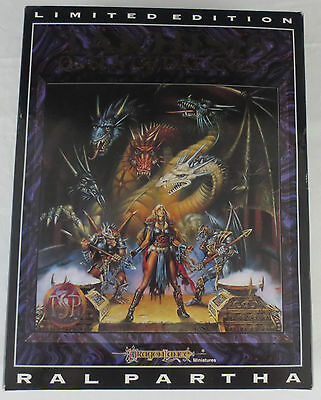 Ral Partha AD&D Takhisis - Queen of Darkness - Limited Edition #1695 of 5000