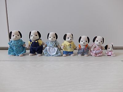 Sylvanian families - Pre-owned Dog Family