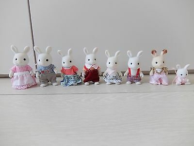 Sylvanian families - Pre-owned Rabbit Family