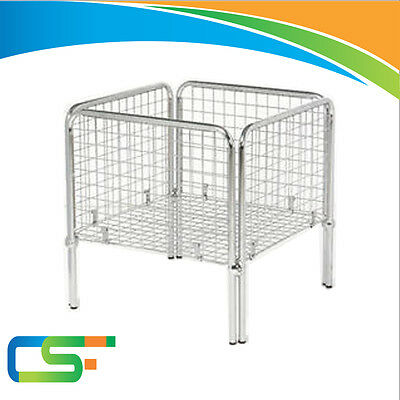 New  Heavy Duty Chrome Basket Shopfitting & Retail Shop Display Items