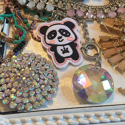 Job Lot 2 Broken Jewellery Vintage Style Crafts Shabby Chic Recycle Repair