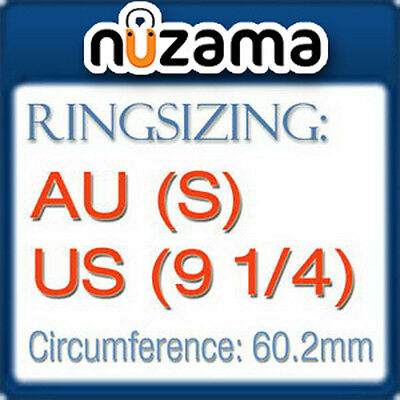 AU(S) US(9.25) Ring Resizing Service for NUZAMA GOLD Rings