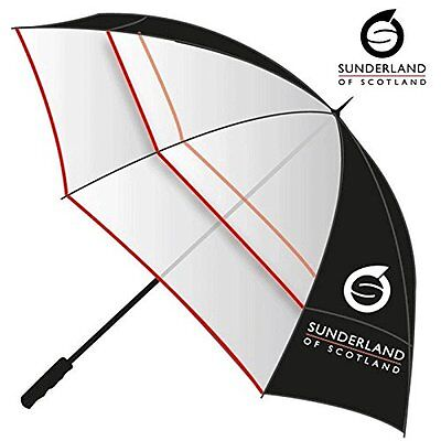 """""""new 2017"""" Sunderland Clearview Performance Dual Canopy / Vented Golf Umbrella"""