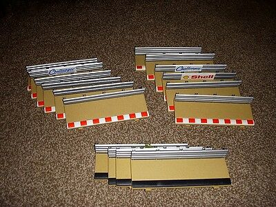 Scalextric track barriers