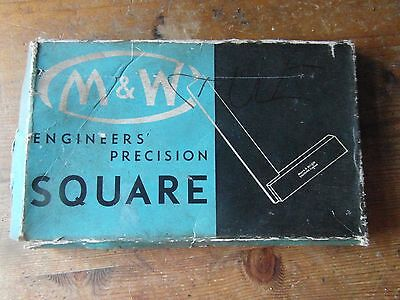"""Moore & Wright Industrial Measuring instrument  Engineers Squares - 5"""""""