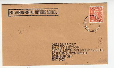 EDINBURGH POSTAL TRAINING SCHOOL COVER BOGUS/FAKE? .Rfno.411.