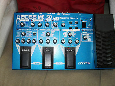 Boss ME50 Guitar Multi FX