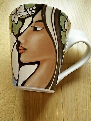 Villeroy Boch New Wave MAYA 2  Mugs and 2 Espresso coffee cups and saucer set.