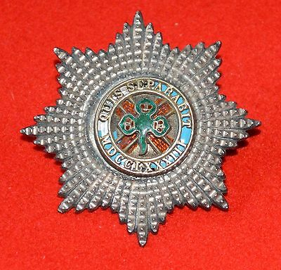 British Army. 4th Royal Irish Dragoon Guards Rare Officer's Victorian Cap Badge