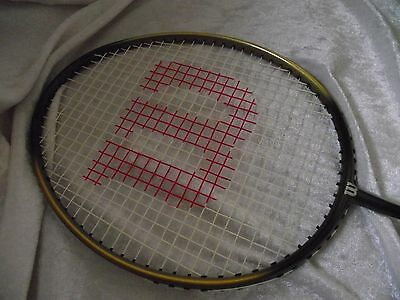 Wilson 'dimension comp' Badminton Racket