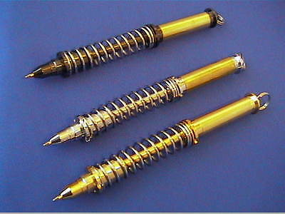Woodturning Pen Kits - SHOCK ABSORBER - Gold/Chrome/Gun Metal  FREE POSTAGE