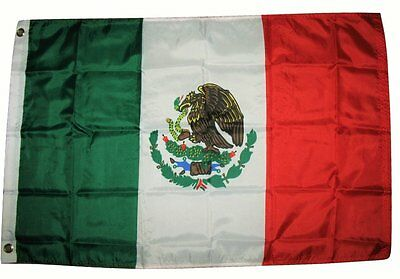 Mexico Mexican National Country Flag 3x5 Feet Printed Flag with Grommets by