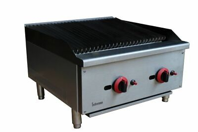 NEW Gas Infernus Char Broiler Char Grill 2 Burner