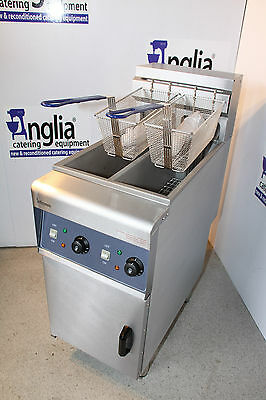 Twin Tank Electric Commercial Infernus Fryer Heavy Duty Catering Equipment