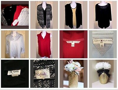 LOT of 5 Women Blouses  Different Brands( Tommy Hilfiger  )Size XL