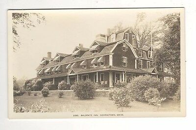 c1920 – Baldpate Inn- Georgetown, MA Real Photo Postcard - Unused