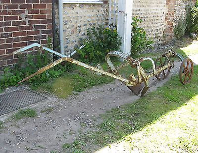 Victorian Horse Drawn Large Sugarbeet Lifter