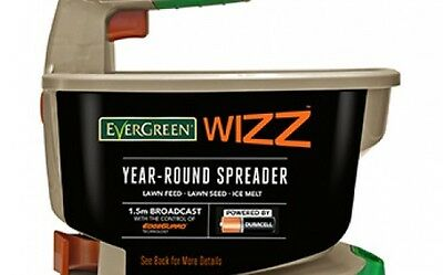 Scotts EverGreen Wizz Year Round Battery Spreader for Lawn Feed Seed and Salt