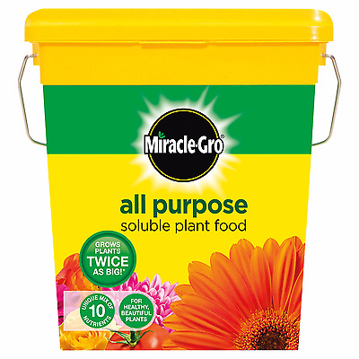 Miracle-Gro All Purpose Soluble Plant Food Tub 2 Kg Fertilizer Water Garden Grow