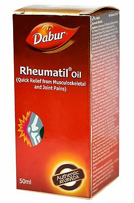 Dabur Herbal Rheumatil Massage Oil For Relief From Musculoskeletal & Joint Pains