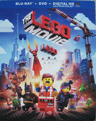 The Lego Movie Canadian Bilingual Slipcover Only No Discs
