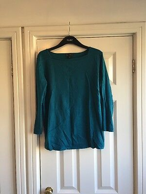 Turquoise Maternity Jumper From Next Size 10