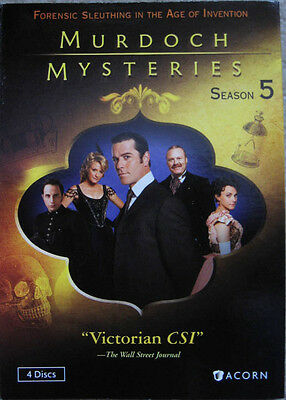 Murdoch Mysteries Fifth Season 5 Five Slipcover Only No Discs Yannick Bisson