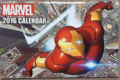 Official Marvel Superheroes Calendar 2016 / Brand new and unused